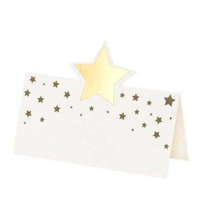 Talking Tables Gold Star Place Cards