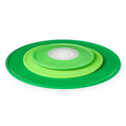 OXO Good Grips 3pc Reusable Lids Green