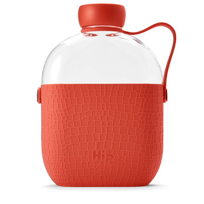 HIP 650ml Hydration Water Bottle - Coral