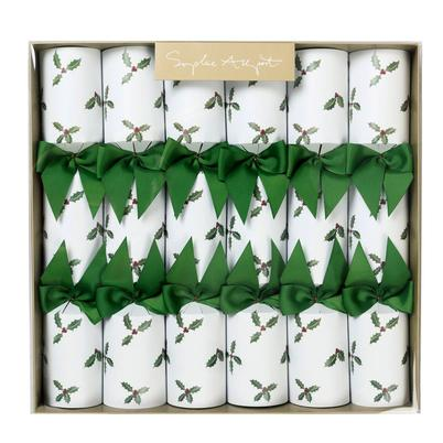 Sophie Allport Holly & Berry Christmas Crackers Set of 6