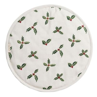 Sophie Allport Holly & Berry Circular Hob Cover