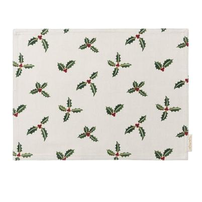 Sophie Allport Holly & Berry Fabric Placemat