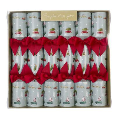 Sophie Allport Home For Christmas Crackers Set of 6