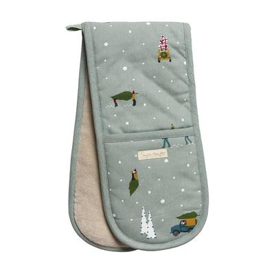 Sophie Allport Home For Christmas Double Oven Glove