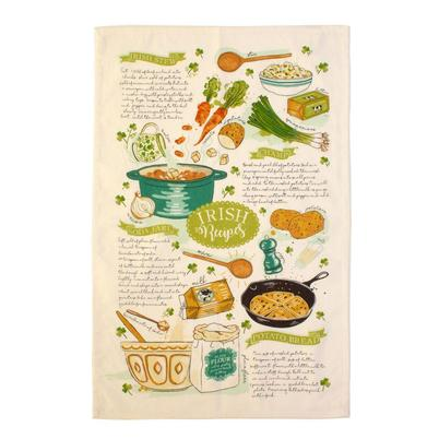 Ulster Weavers Irish Recipes Tea Towel