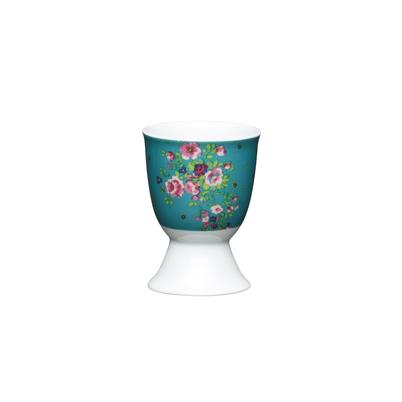 KitchenCraft Floral Rose Porcelain Egg Cup
