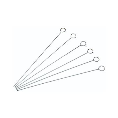 KitchenCraft Flat Sided Skewers 30cm Pack of 6