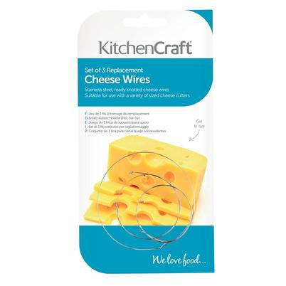 KitchenCraft Spare Cheese Wires 3pc