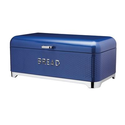 Lovello Textured Midnight Blue Bread Bin