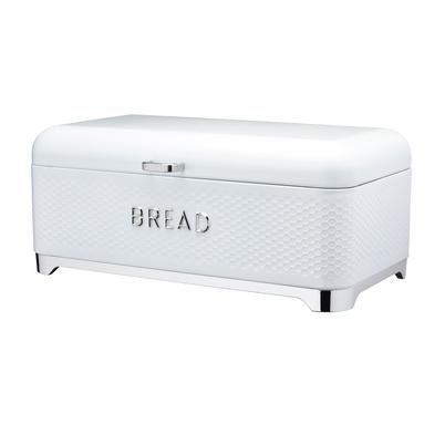 Lovello Textured Ice White Bread Bin