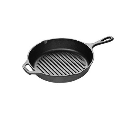 Lodge 10.25 Inch Cast Iron Grill Pan