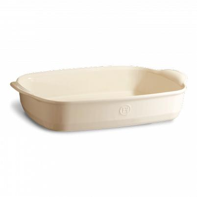 Emile Henry Cream Rectangular Oven Dish Large