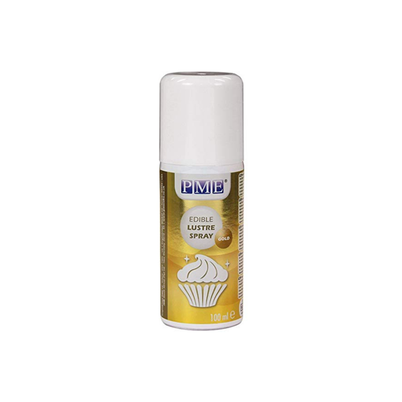 PME Edible Lustre Spray Gold 100ml