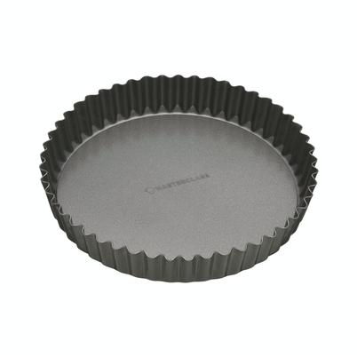 MasterClass Non-Stick 23cm Loose Base Fluted Quiche Tin