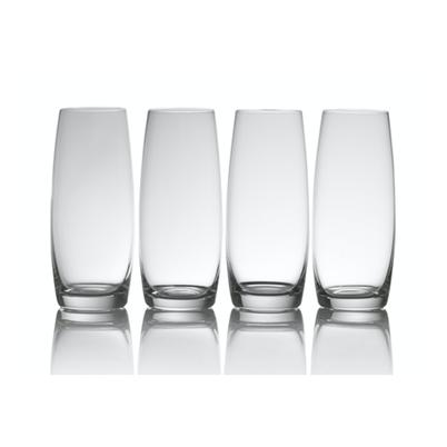 Mikasa Julie Set of 4 Stemless Flute Glasses