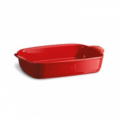Emile Henry Rectangular Oven Dish Grand Cru (Red)