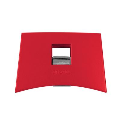 Cristel Mutine Removable Side Handle Red