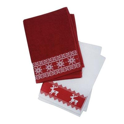 Nordic Winter Tea Towel Set of 2