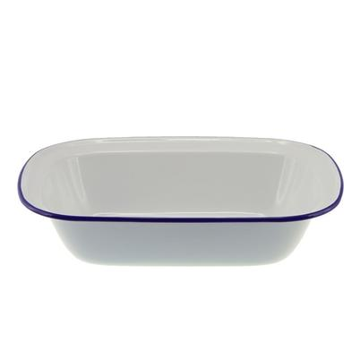 Falcon Enamel Oblong Pie Dish 32cm