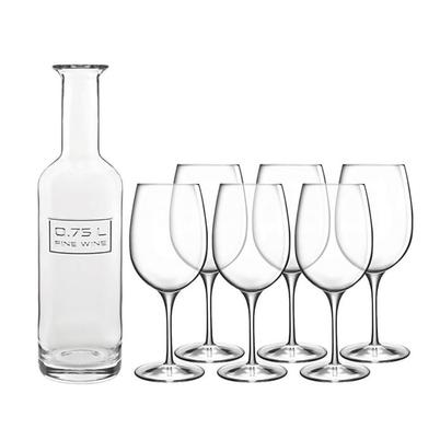Luigi Bormioli Optima 7pc Wine Sommelier Set
