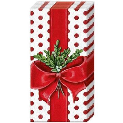 IHR Pocket Tissues A Present For You White Red