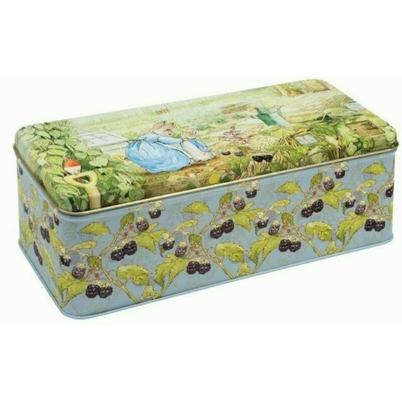 Peter Rabbit Long Deep Rectangular Biscuit Tin