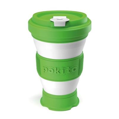 Pokito Reusable Pop-up Cup Lime