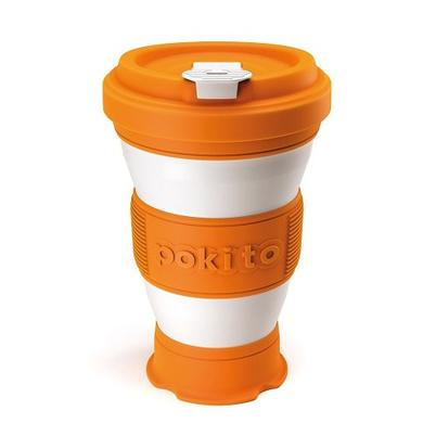Pokito Reusable Pop-up Cup Pumpkin