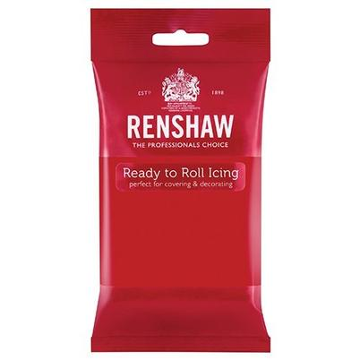 Renshaw Sugar Paste Poppy Red 250g