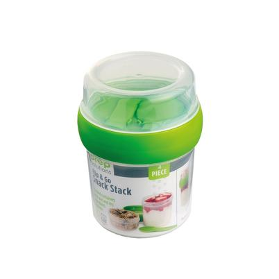 Progressive Flip & Go Snack Stack Green