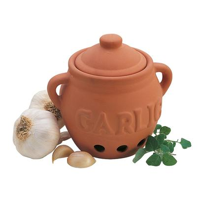 Progressive Terracotta Garlic Keeper