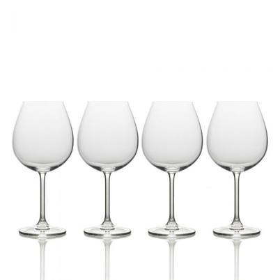Mikasa Julie Set of 4 Red Wine Glasses