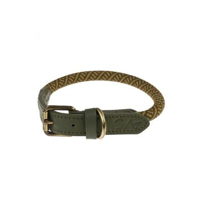 Sophie Allport Rope Collar Forest Green Large