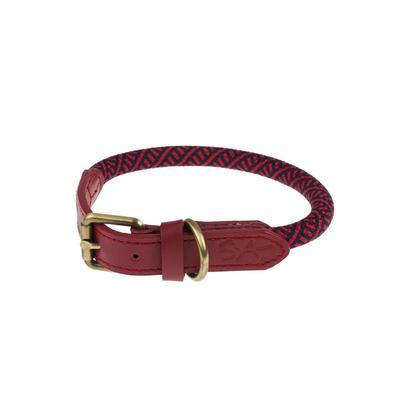 Sophie Allport Rope Collar Red Small