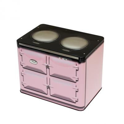 AGA Range Cooker Biscuit Tin Rose Pink