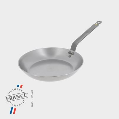 de Buyer MINERAL B ELEMENT Round Frypan 24cm