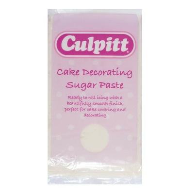 Culpitt Cake Decorating Sugar Paste Ready to Roll Icing Ivory 250g