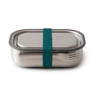Black and Blum Stainless Steel Lunch Box Olive