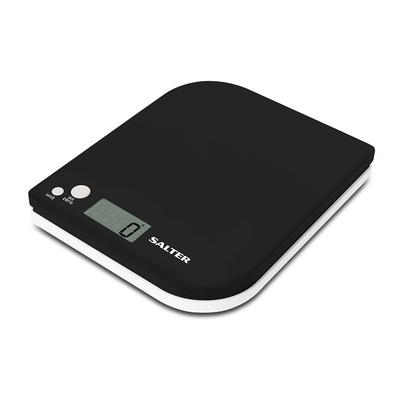 Salter Leaf Electronic Digital Kitchen Scale - Black
