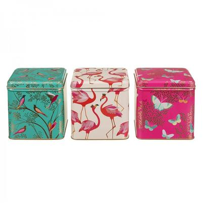 Sara Miller Set of 3 Square Caddies