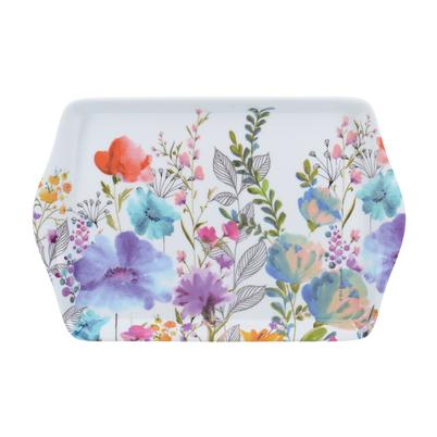 Creative Tops Melamine Scatter Tray, Meadow Floral
