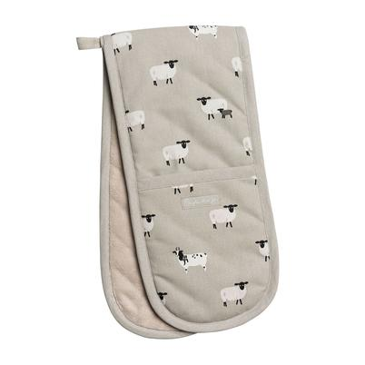 Sophie Allport Sheep Double Oven Glove