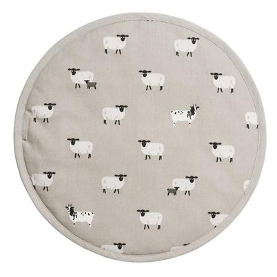 Sophie Allport Sheep Circular Hob Cover