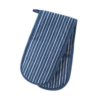 Smithfield Butcher's Stripe Double Oven Gloves