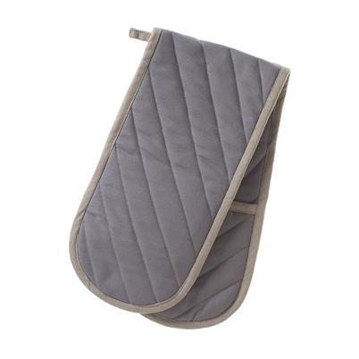 Smithfield Grey Double Oven Gloves