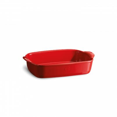 Emile Henry Small Rectangular Oven Dish Grand Cru (Red)