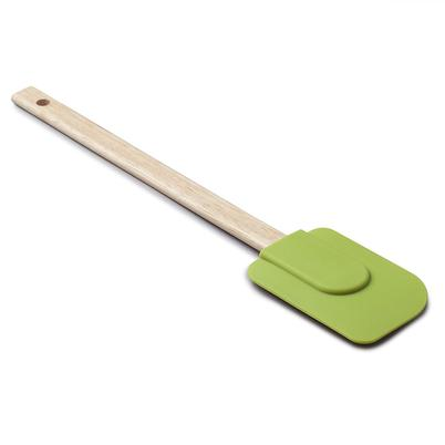 Zeal Silicone Spatula with Wooden Handle