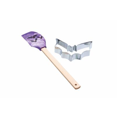 Spookily Does It Spatula & Cookie Cutter Set