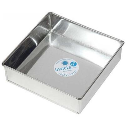 Invicta Professional Square Cake Tin 10 Inch