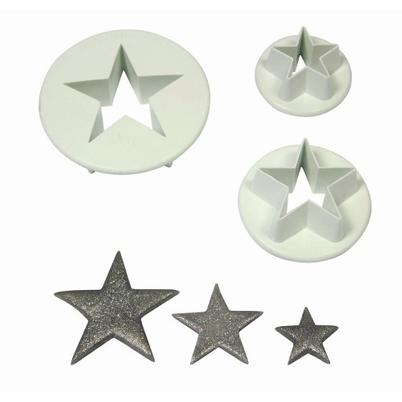 PME Star Cutters Set of 3